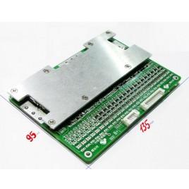 BMS с LED-индикацией 20 ячеек (20s) Li-Po 4.2v, 50A разряд, 10A заряд