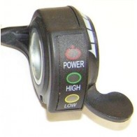 Ручка газа (курок) 48 В с индикацией заряда батареи
