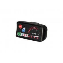 Экран на руль светодиодный LED 48V со спидометром