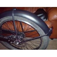 """Крыло алюминиевое для широких колес, до 2.5"""""""