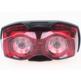 Велофара задняя светодиодная, фонарь - габарит 2х0.5 Вт
